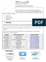 Maths Newsletter 2