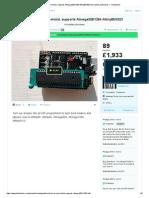 Arduino as ISP Shield, Supports Atmega328_1284 Attiny85_4323 by Mantas Jurkuvenas — Kickstarter