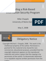 Building a Riskbased Information Security Program132[2]