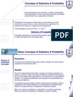 Class 04 - Basic Concepts of Statistics and Probability (1 of 3)