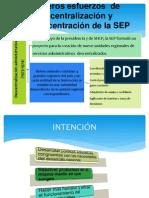 Primeros esfuerzos  de  descentralización y desconcentración de la.pptx