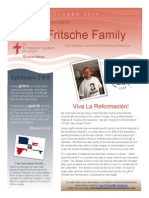 Fritsche Mission Newsletter - October 2014
