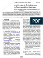 A Data Mining Process in an Indigenous Knowledge Ethno Medicinal Database