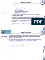 Class 21 - Taguchi, TQM, Kazien, Six Sigma and ISO 9000 (2 of 2)