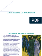 A Geography of Modernism