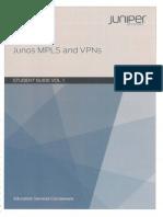 Mpls VPN Junos Vol1