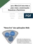Porque é que a Web 2.0 é boa para a aprendizagem e para a investigação