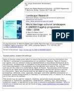 Landscape Research