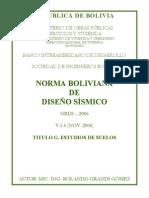Norma de Sismo en Bolivia Titulo G.pdf