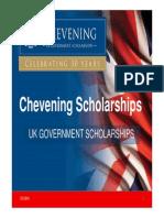 Chevening Scholarships Presentation