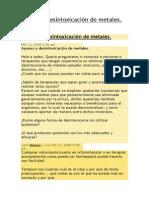Ayunos y Desintoxicación de Metales, Foro Opina.docx