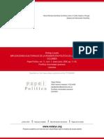 IMPLICACIONES ELECTORALES DE LA REINSERCIÓN POLÍTICA DE LAS AUTODEFENSAS EN COLOMBIA.pdf