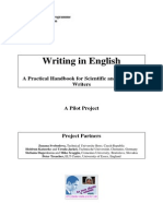 4704. Writing in English. a Practical Handbook for Scientific and Technical Writers by Zuzana Svobodova