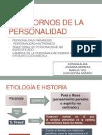 TRASTORNO DE LA PERSONALIDAD PARANOIDE-HISTRIÓNICA-TP.NO ESPECIFICO-CAMBIO DE PERSONALIDAD.pptx