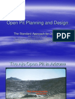 Lecture 7 2010 Open Pit Planning and Design