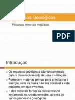 Recursos Geológicos
