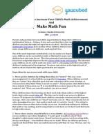 Parents Make Math Fun