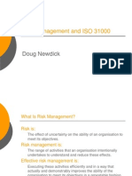 Risk Managment and ISO 31000 by Doug Newdick