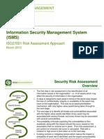 ISO 27001 Risk Assessment Approach