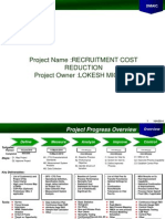 DMAIC Cost Reduction