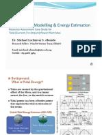 Tidal Current Modelling & Energy Estimation