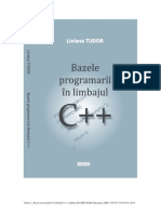 Book Basics of Programming in C++ Tudor 2010
