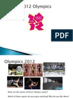 Olympics Slides