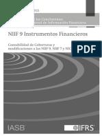 Contabilidad de Coberturas y modificaciones a las NIIF 9, NIIF 7 y NIC 39