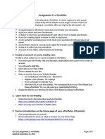 assignment 2 e-portfolio