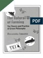 22. Masanobu Fukuoka - Agricultura naturală - TEI - alb-negru