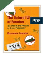 22. Masanobu Fukuoka - Agricultura naturală - TEI - color