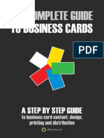 The Complete Guide to Business Cards - allBcards