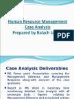Case Analysis Methodology by Sir Balach Jamali