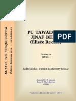 Pu tawadayik jinaf berik (À mon frère le paysan)