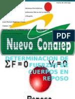 determinaciondefuerzasdecuerposenreposo-121108233919-phpapp01.pptx