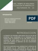 INFLUENCIA DEL TIEMPO DE MOLIENDA EN LA  FLOTACION_2.ppt