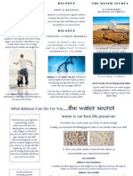 balance product brochure