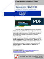 VMmark virtualization performance of Micron Enterprise PCIe SSD-based SAN