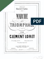 Loret - Marche Triomphale Pour Harmonium