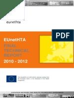 EUnetHTA JA FinalTechnicalReport2010 2012FinalVersion20130531 0