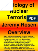 Nuclear Terrorism PowerPoint