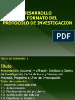 Desarrollo del protocolo de investigacion.ppt