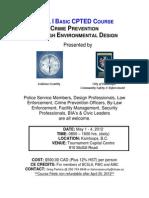 Crime Prevention by Design