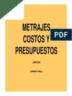 Metrajes Costos Y Presupuestos – Fernando FranÇa.pdf
