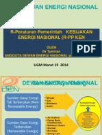 PP Kebijakan Energi Nasional