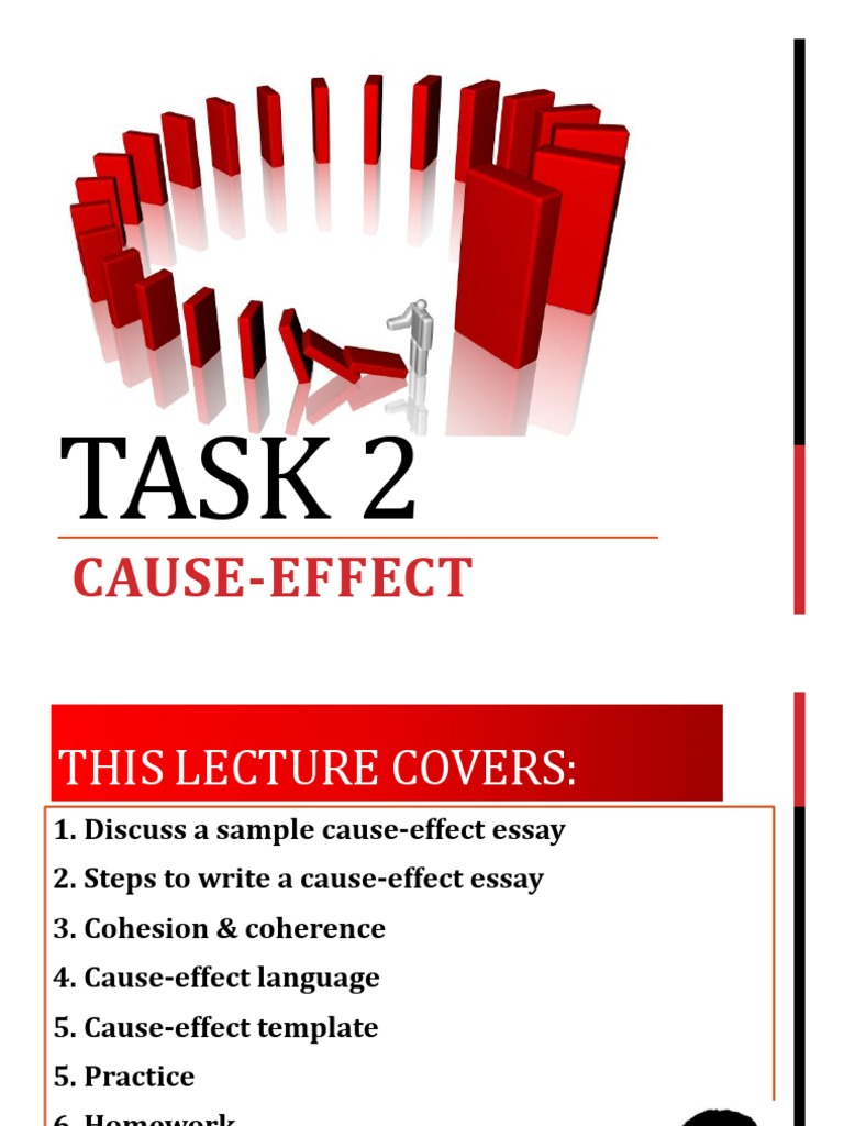 5 examples of cause and effect