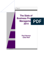 BPTrends State of BPM Survey Report