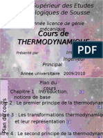 Cours de Thermodynamique L2-S1-Definitif