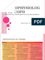 Pathophysiology of COPD