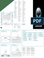 Alienware m17x r4 Setup Guide Es Mx